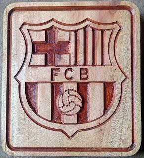 ukiran logo barcelona