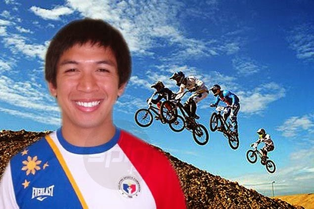 2014 Asian Games: BMX Rider Daniel Caluag won PH's 1st Gold Medal