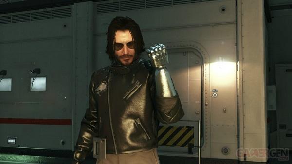 بالصور الممثل العالمي Keanu Reeves يحط الرحال في لعبة Metal Gear Solid V و فكرة رهيبة جداً ، لنشاهد من هنا..