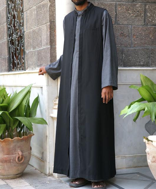 baju muslim gamis pria dari arab
