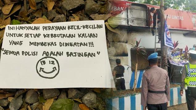 Kantor Satuan Lalu Lintas milik Polrestabes Makassar di Jalan A.P Pettarani