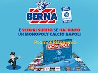 Logo Berna ti regala il Monopoly del Calcio Napoli : 240 scatole in palio
