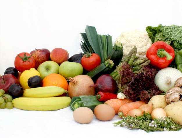 Benefits of fruits and vegetables according to their diverse colors