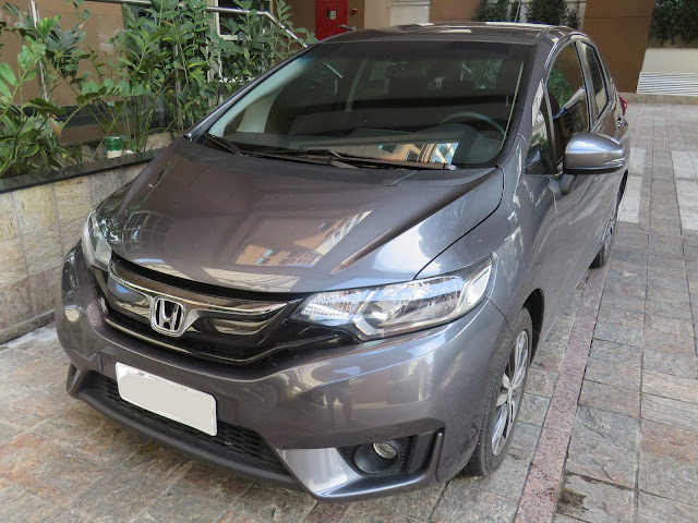 Honda Fit 2016 x VW CrossFox 2016