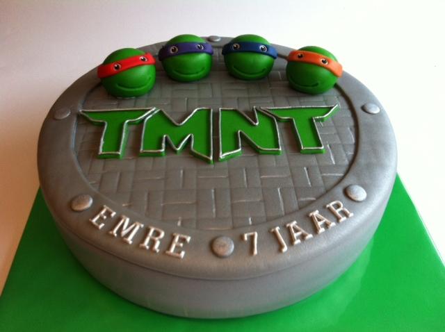 ninja turtles taart Teenage Mutant Ninja Turtle taart | Taarten; Gemaakt door Jonne ninja turtles taart