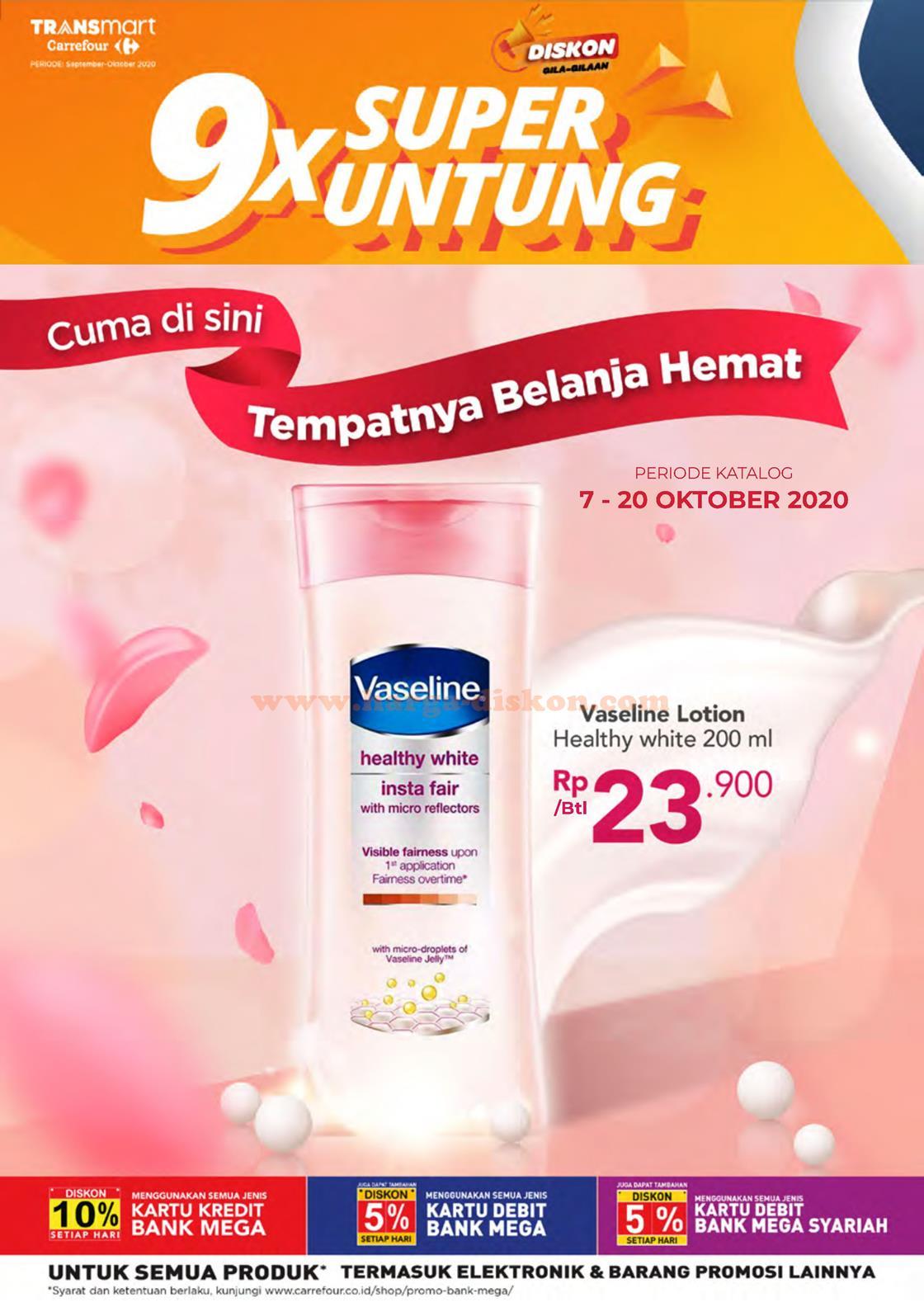 Katalog Promo Transmart Carrefour Terbaru 7 20 Oktober 2020 Harga Diskon