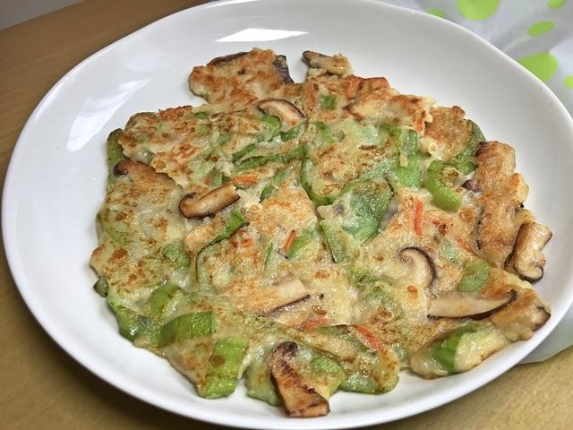絲瓜煎餅~家常料理、香甜美味、夏天吃很清爽