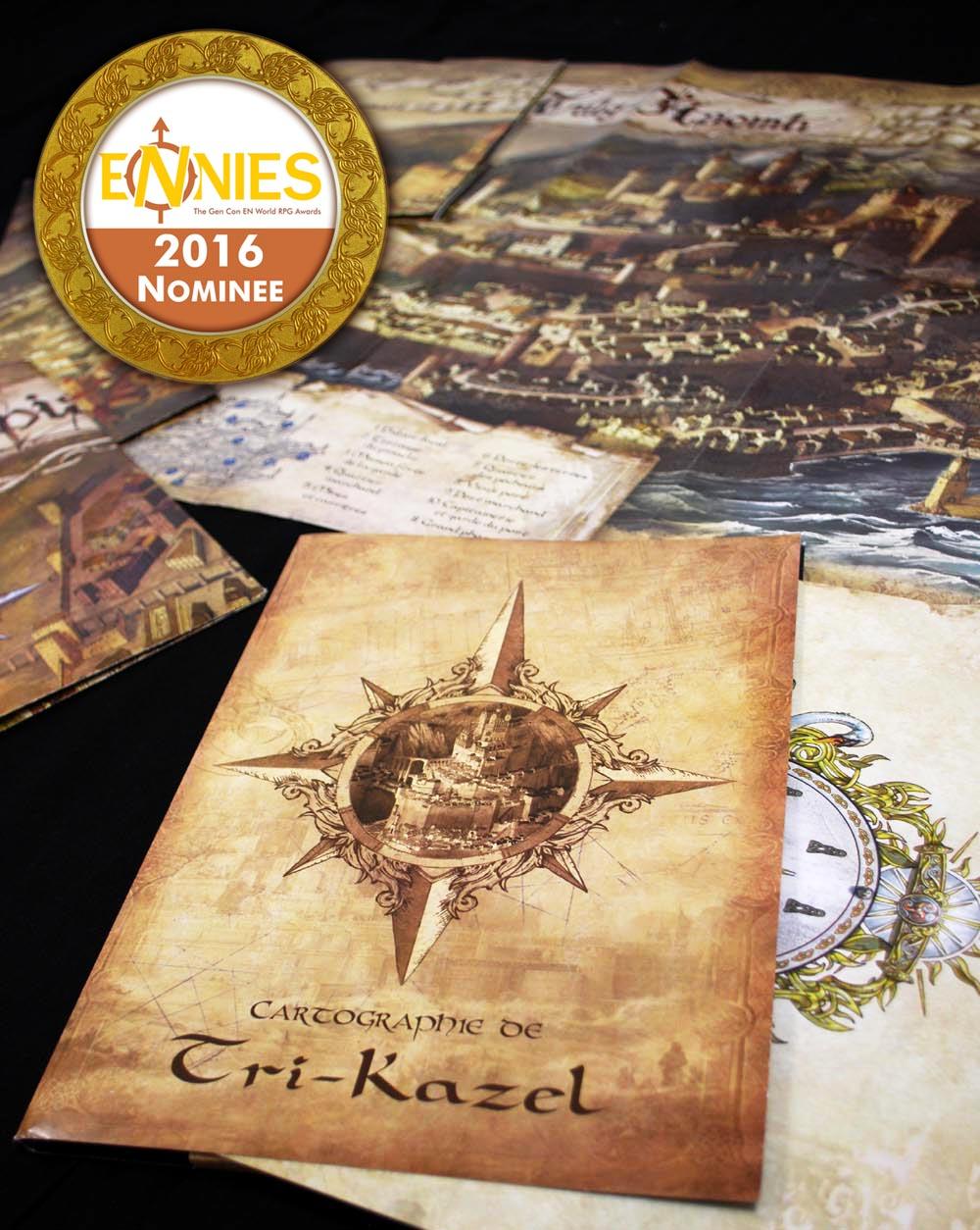ENNIE Award winning supplement Cartography of Tri-Kazel Shadows of Esteren