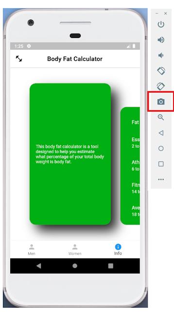 Android Emulator - Screen Capture