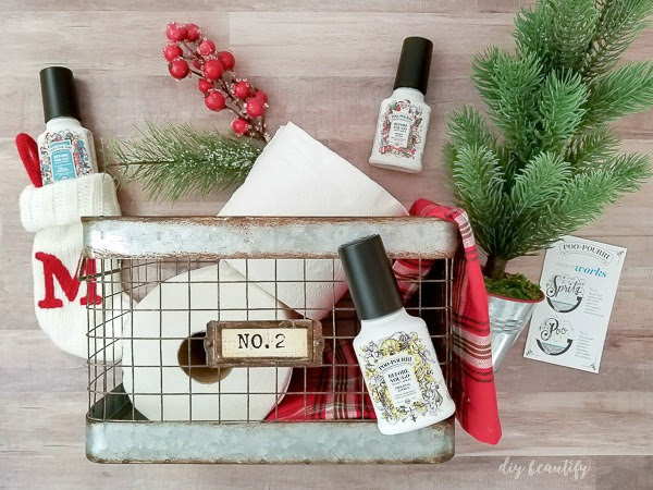 The Perfect Guest Basket for the Holidays