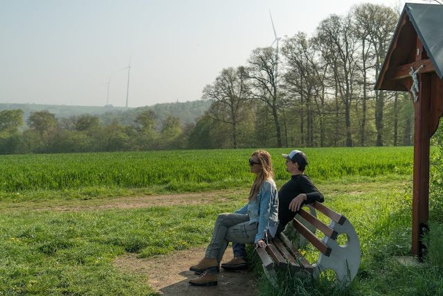 Saar-Hunsrück-Steig Etappe 20 Von Mörsdorf nach Kastellaun  Hängebrücke Geierlay Wandern im Hunsrück Traumschleifen-Hunsrück 02