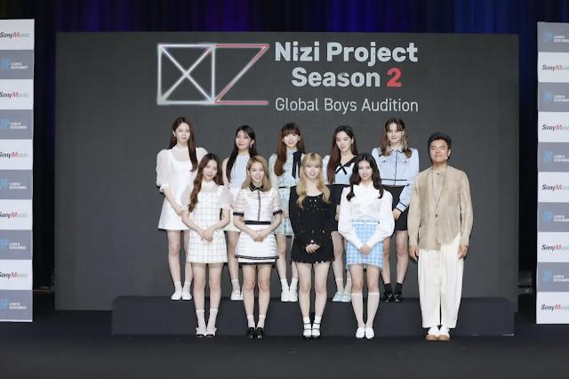 Nizi Project 2 presentará el nuevo grupo masculino de JYP Entertainment