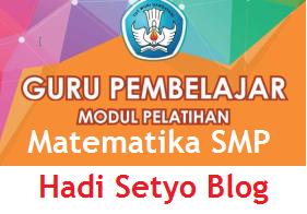 Modul Guru Pembelajaran Matematika SMP, Download Modul Guru Pembelajaran Matematika SMP, Buku Moda Daring img
