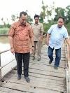 Diduga Tidak Sesuai Volume Kerja Perbaikan Jembatan Gantung , Ketua DPRD Wajo  Akan Panggil Pihak PPTK