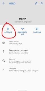 Cara Menghapus Jaringan Wifi Di Hp Android