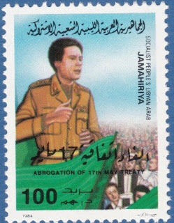 Libya 1984 transport policy international international Gaddafi