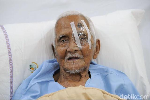 Operasinya Berhasil, Nyak Sandang: Terima Kasih Pak Jokowi