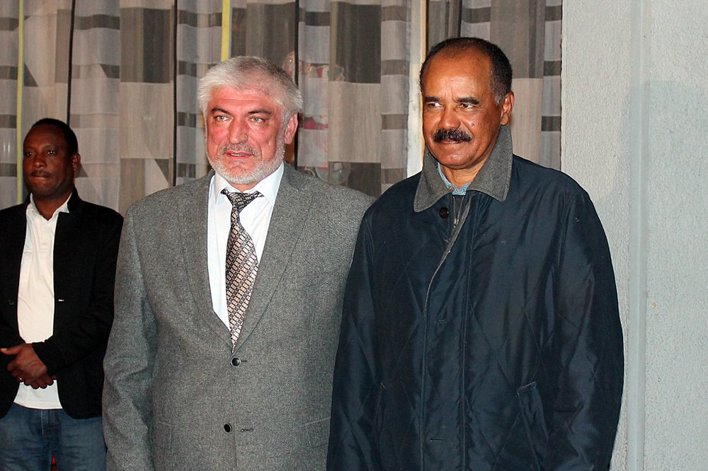 <Russian Ambassador to Eritrea: We all should help Eritrean people to achieve their noble goals
