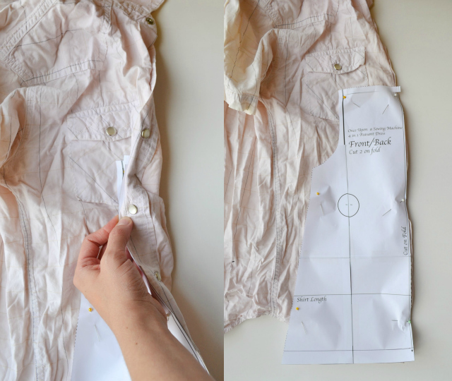 How to Upcycle: Baby Peasant-Style Dress with Button Placket // DIY Sew