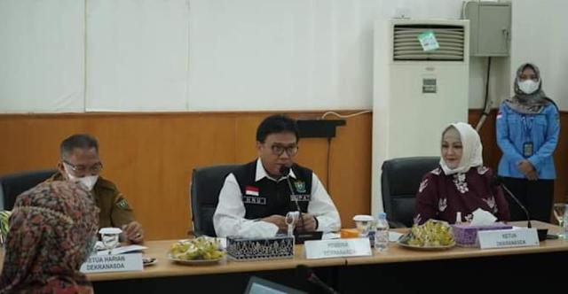 Pj Bupati Ajak Semua Pihak Dukung Program Kerja Dekranasda Kabupaten Muara Enim