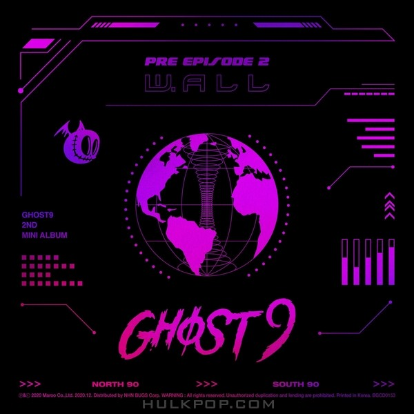GHOST9 – PRE EPISODE 2 : W.ALL – EP