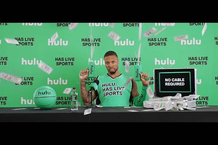 Damian Lillard Releases The Full Song From Hulu Commercial