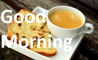 good morning cup of coffee image