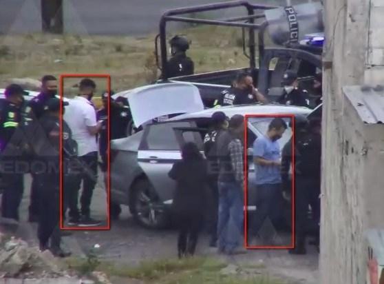 Detienen en Atlacomulco con armas de alto poder a dos Sicarios del CJNG que huían tras haber participado en el atentado a Omar García Harfuch