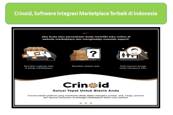 Crinoid, Software Integrasi Marketplace Terbaik di Indonesia