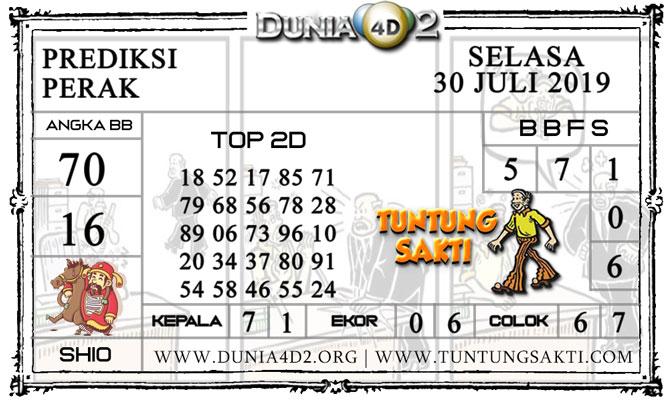 """Prediksi Togel """"PERAK"""" DUNIA4D2 30 JULI 2019"""