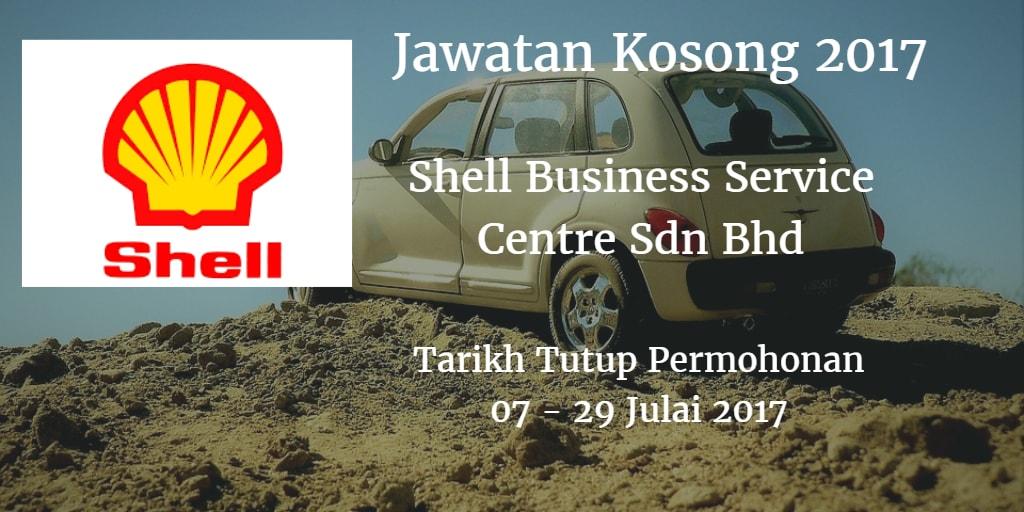 Jawatan Kosong Shell Business Service Centre Sdn Bhd 07 - 29 Julai 2017