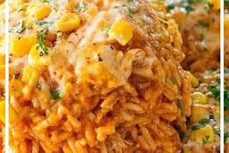 Delicious Chicken Enchilada Rice Casserole Recipe