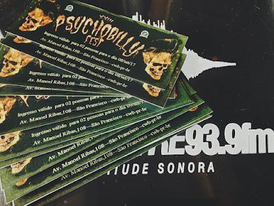 23º Psychobilly Fest - Sorteio de Ingressos Pela Mundo Livre FM