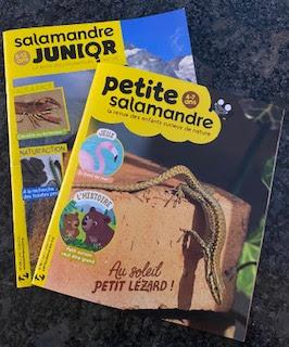 Magazine des éditions Salamandre