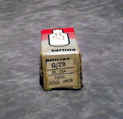 Philips G/29 4 Volt 0.75 Amp 7253C film projector exciter lamp
