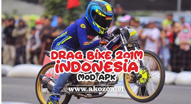 Download Drag Bike 201M Indonesia Mod Apk Terbaru 2018