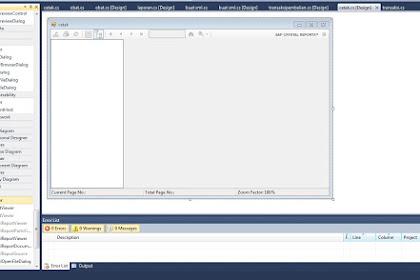 Crystal Report Untuk Visual Studio 2010