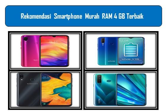 Smartphone Murah RAM 4 GB Terbaik