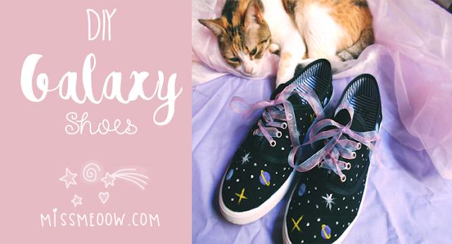 DIY: Galaxy Shoes