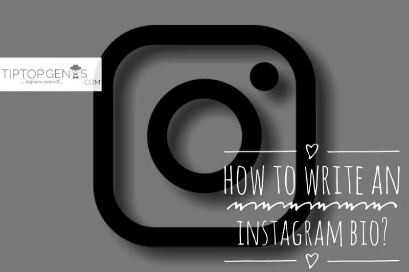 How to write an interesting instagram bio?