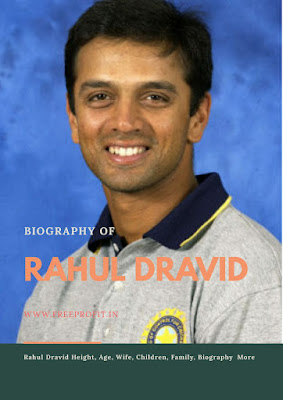 Rahul Dravid Height, Age, Wife, Children, Family, Biography  More