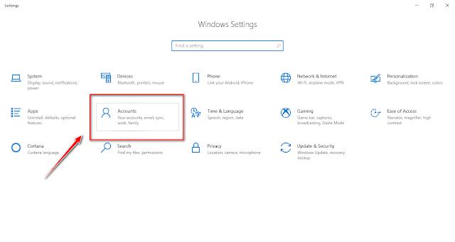 كيفية حذف حساب مستخدم ويندوز 10