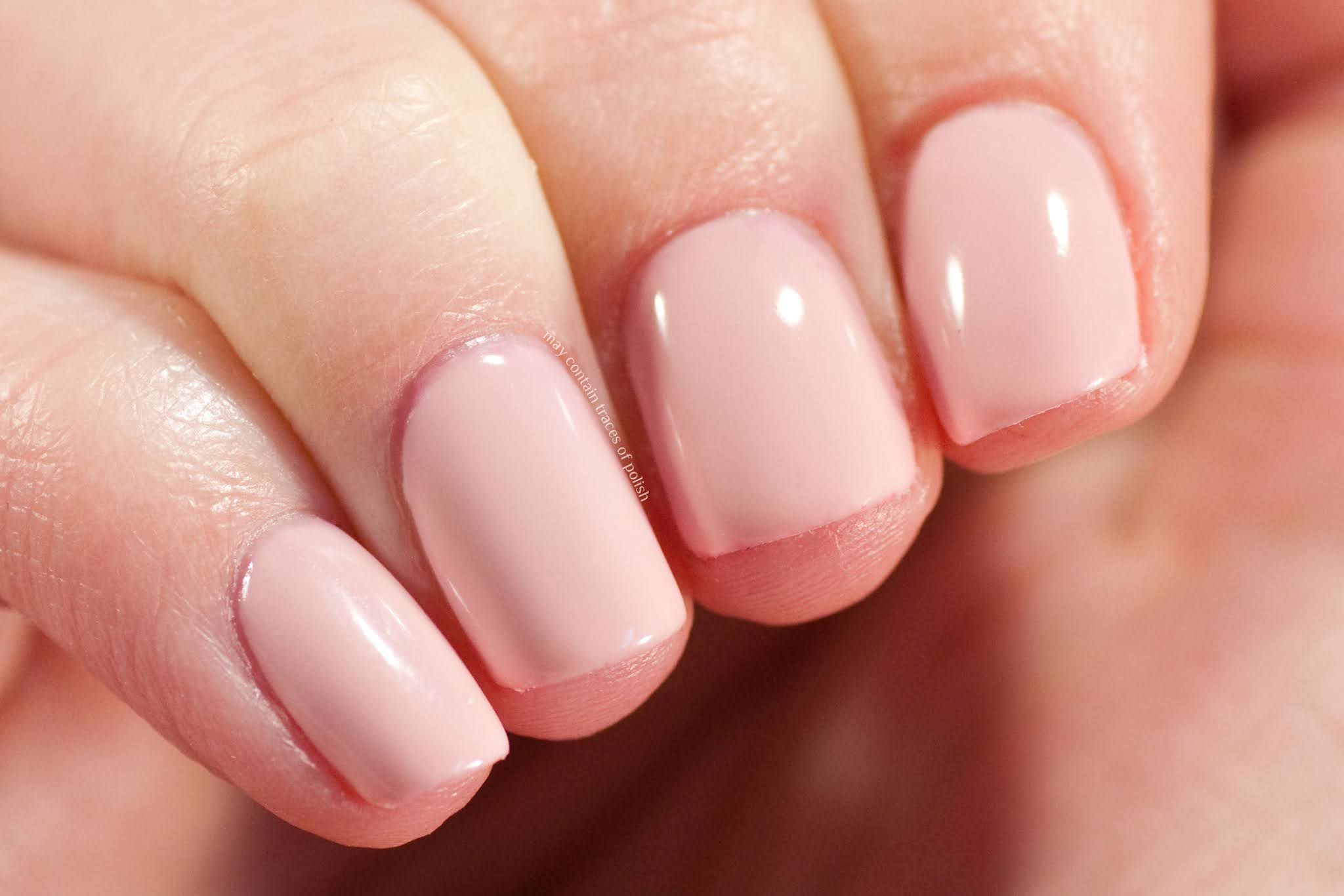 Pink Gellac swatches - 105 Blush Orange