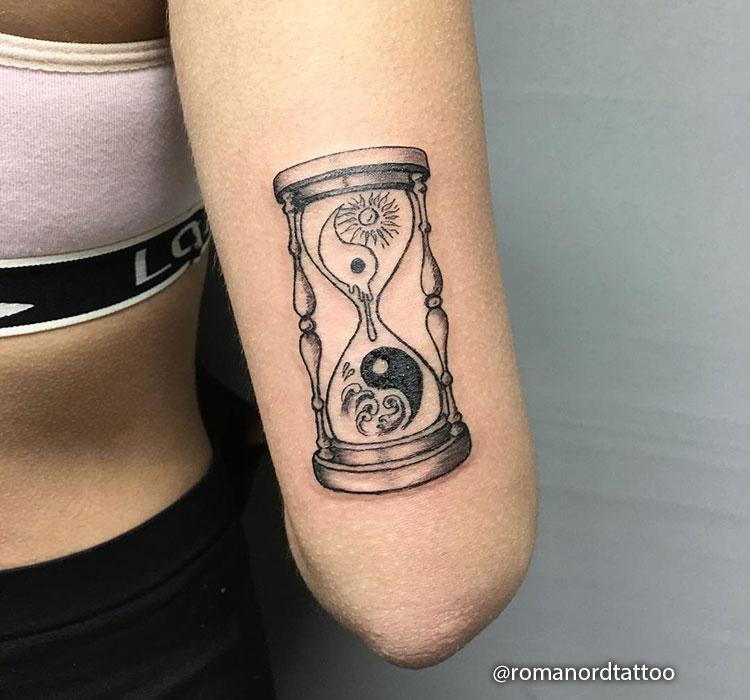 Reloj de Arena y Ying Yang