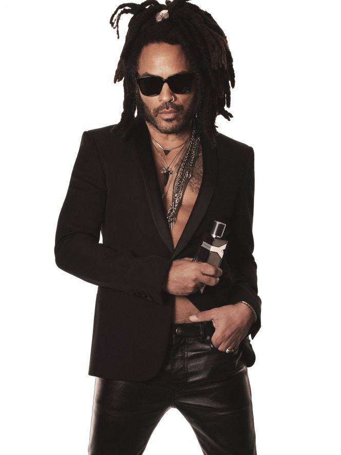 Lenny Kravitz é o astro da campanha do novo perfume Y Eau de Parfum, de Yves Saint Laurent Beauté