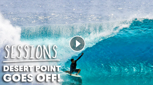Watch Endless Barrels Spin At Indonesia s Desert Point Sessions
