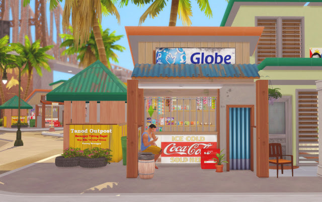 Sims 4 Pinoy Stuff Pack Pinoy Street Shops and Deco