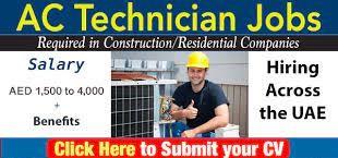 Electrician and AC Technician Jobs Recruitment In Dubai 2021