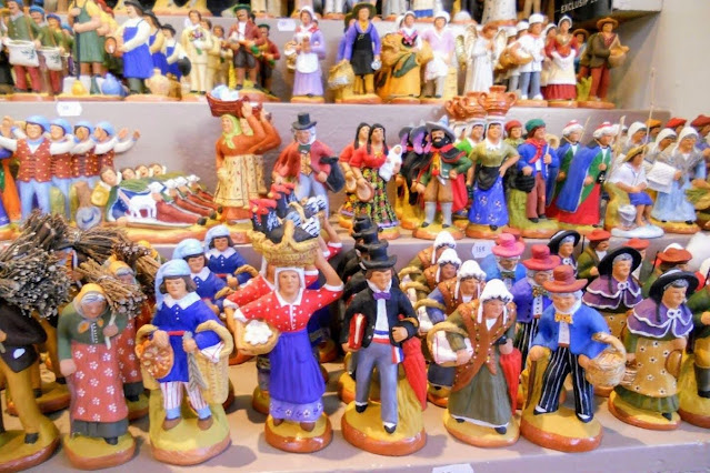 Christmas in Provence: Santons in Aix-en-Provence France