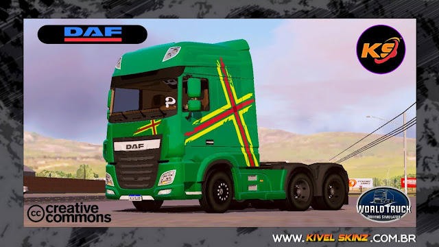 DAF XF - VERDE PERFORMANCE EDITION